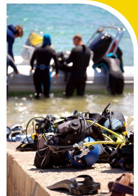 Become a scuba diver and explore what you've been missing